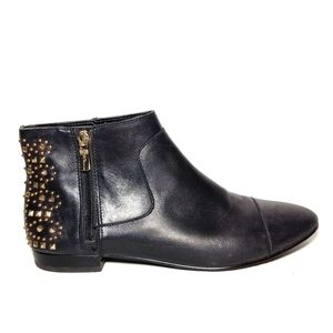 BCBGeneration Logann Studded Leather Booties